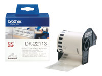 Brother DK-22113 - Blank - Rull (6,2 cm x 15,2 m) film - for Brother QL-1050, 1060, 500, 550, 560, 570, 580, 650, 700, 710, 720, 820 DK22113