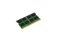 Kingston - DDR3 - 4 GB - SO DIMM 204-pin - 1600 MHz / PC3-12800 - CL11 - 1.5 V - ikke-bufret - ikke-ECC KCP316SS8/4